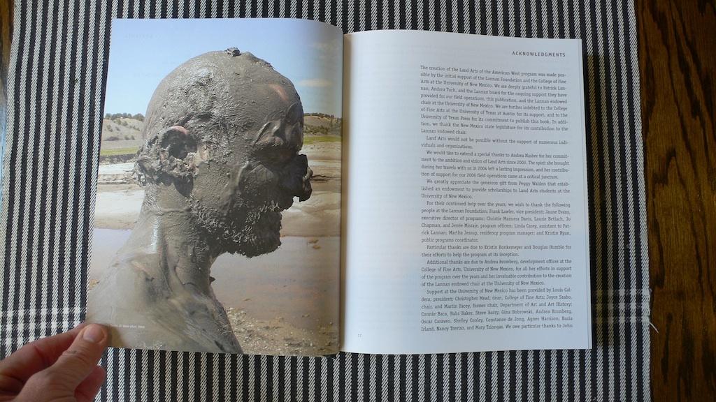 Land Arts book