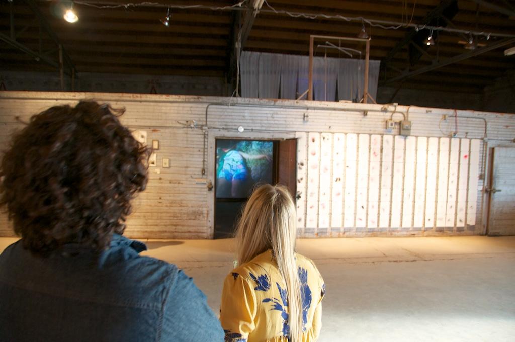 Joaquin and Katy Chrisler at Land Arts 2012 Exhibition opening.