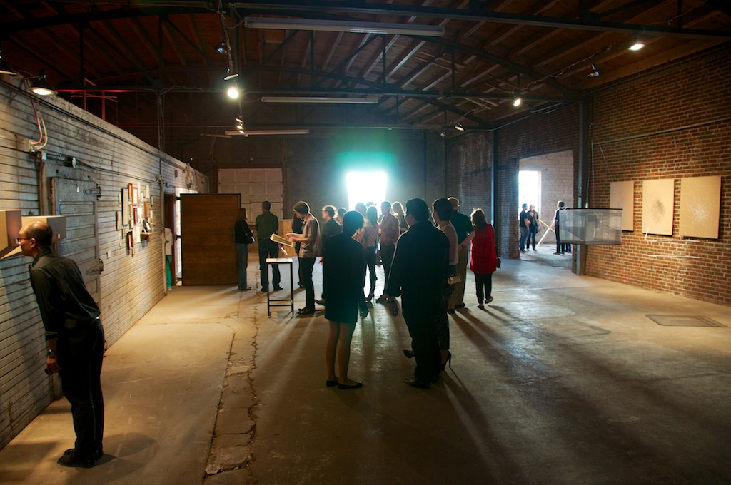 Land Arts 2012 Exhibition opening.