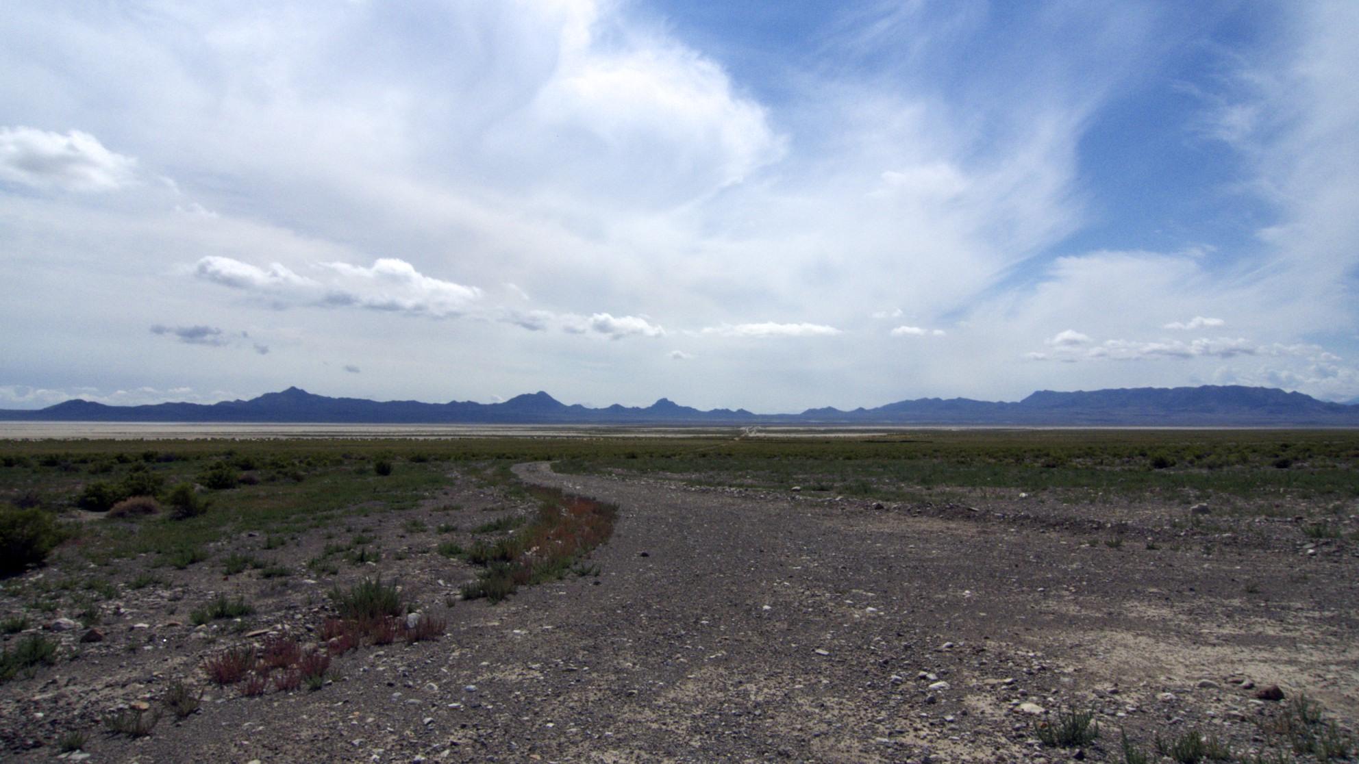Cutoff along Utah/Nevada boarder.