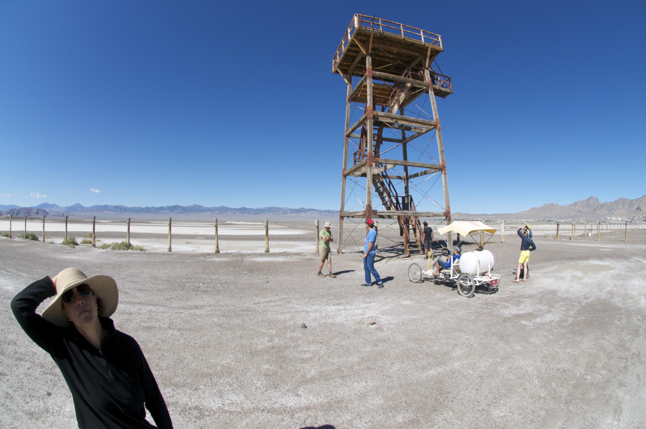 Tower at South Base, Wendover, Utah.