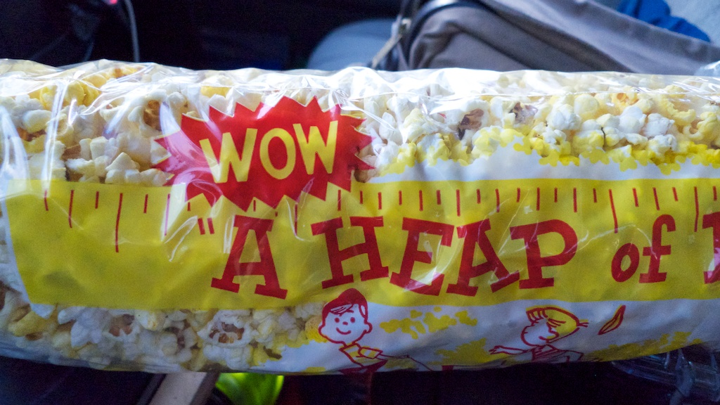 Heap of popcorn, Route 66, New Mexico.