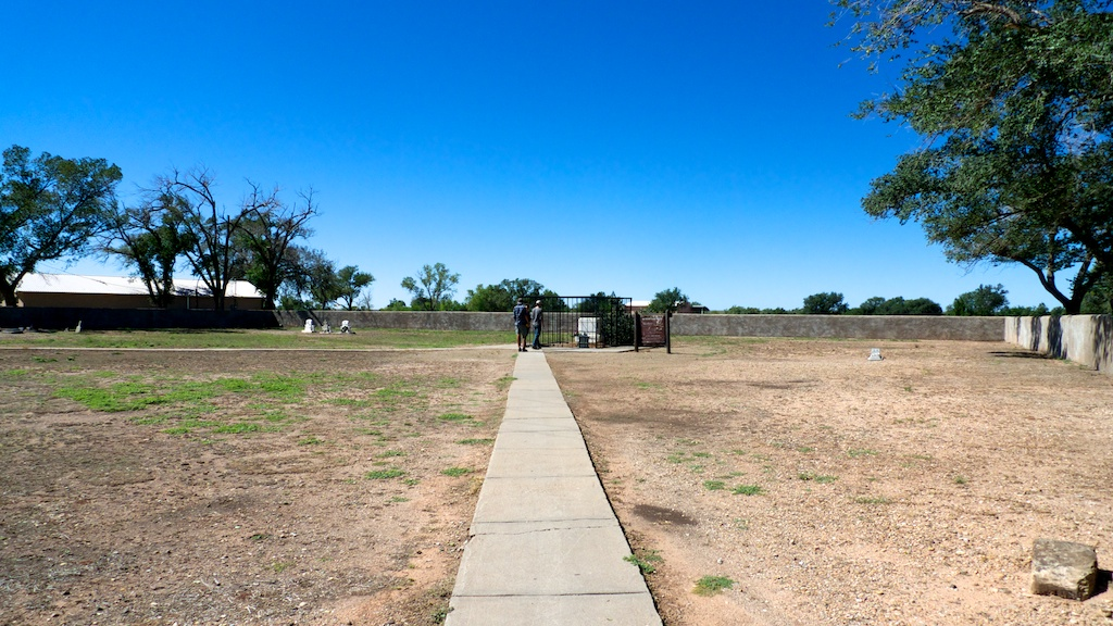 Billy the Kid's gravesite, Fort Sumner, New Mexico.