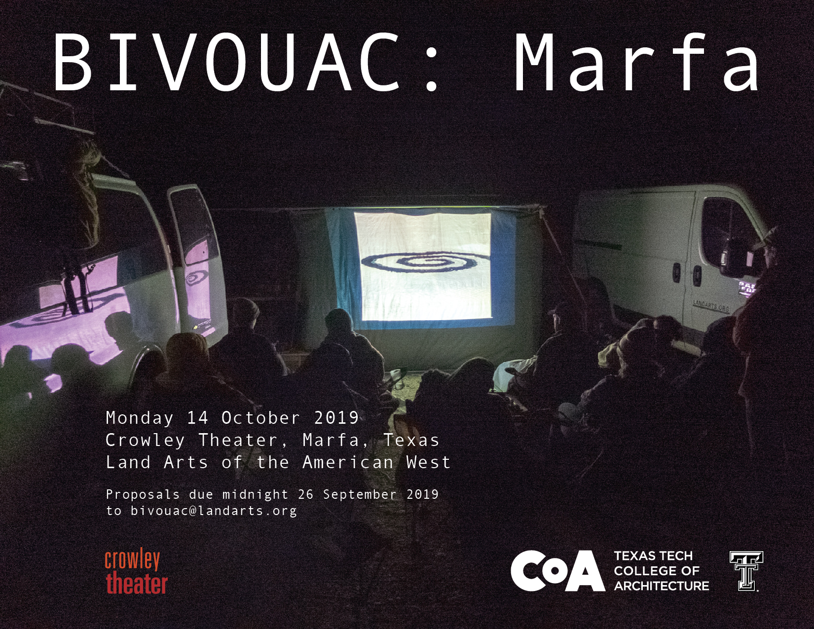 BIVOUAC: Marfa — Call for Proposals | Land Arts of the American West